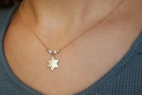 Jewish Star Zion Necklace4