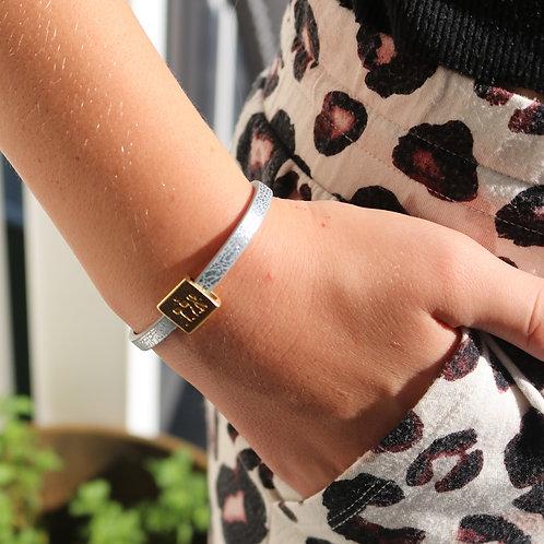 Kabalah Leather Bracelet