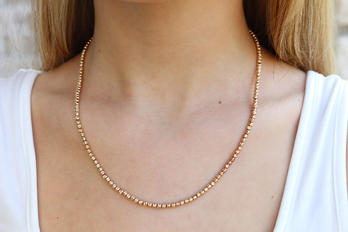 Glamorous Bead Necklace