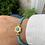Thumbnail: Flower Turquoise Bracelet