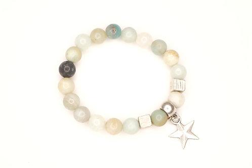 Star Gemstone Bracelet