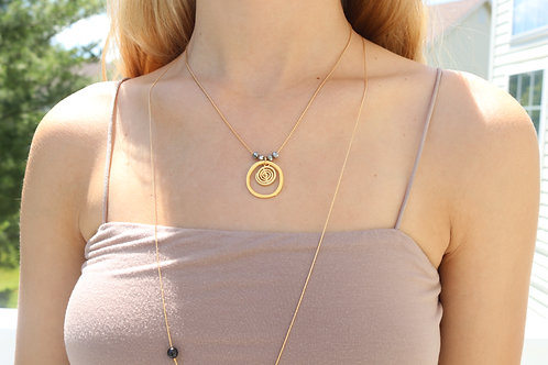 Spiral Ice Necklace
