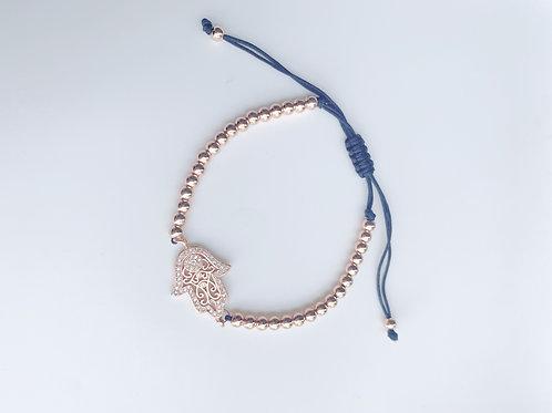 Rose Gold Hamsa Bracelet