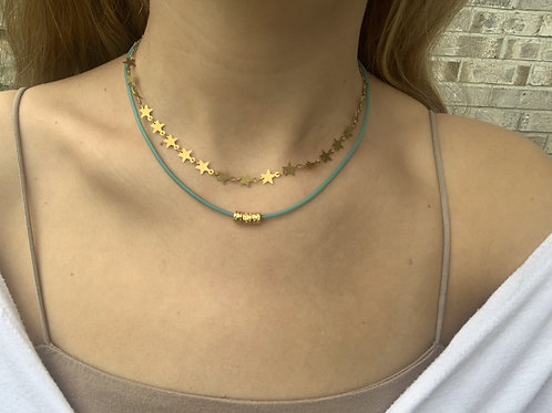 Estoile Double Layered Necklace