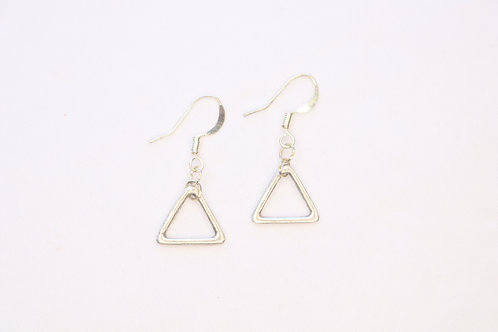 Small Triangle/Star/Moon Charms Earrings