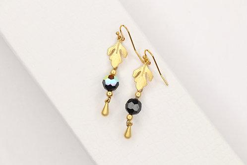 Swarovski Bead Dangles Earrings