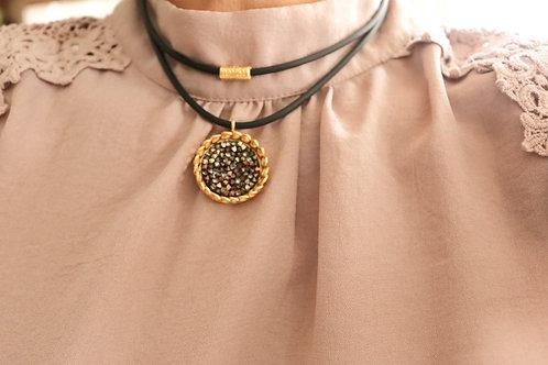 Flower Crown Swarovski Necklace