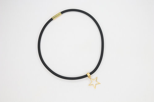 Star Rubber Necklace