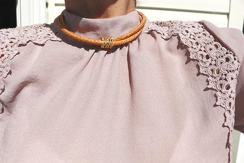 Filigree Barrel Necklace