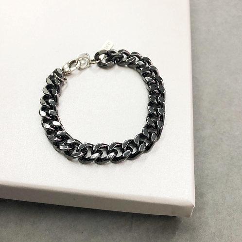 Black gourmet bracelet