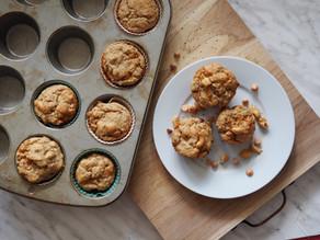Muffins noix de cajou et zeste de lime