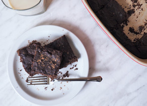 Brownies aux haricots rouges
