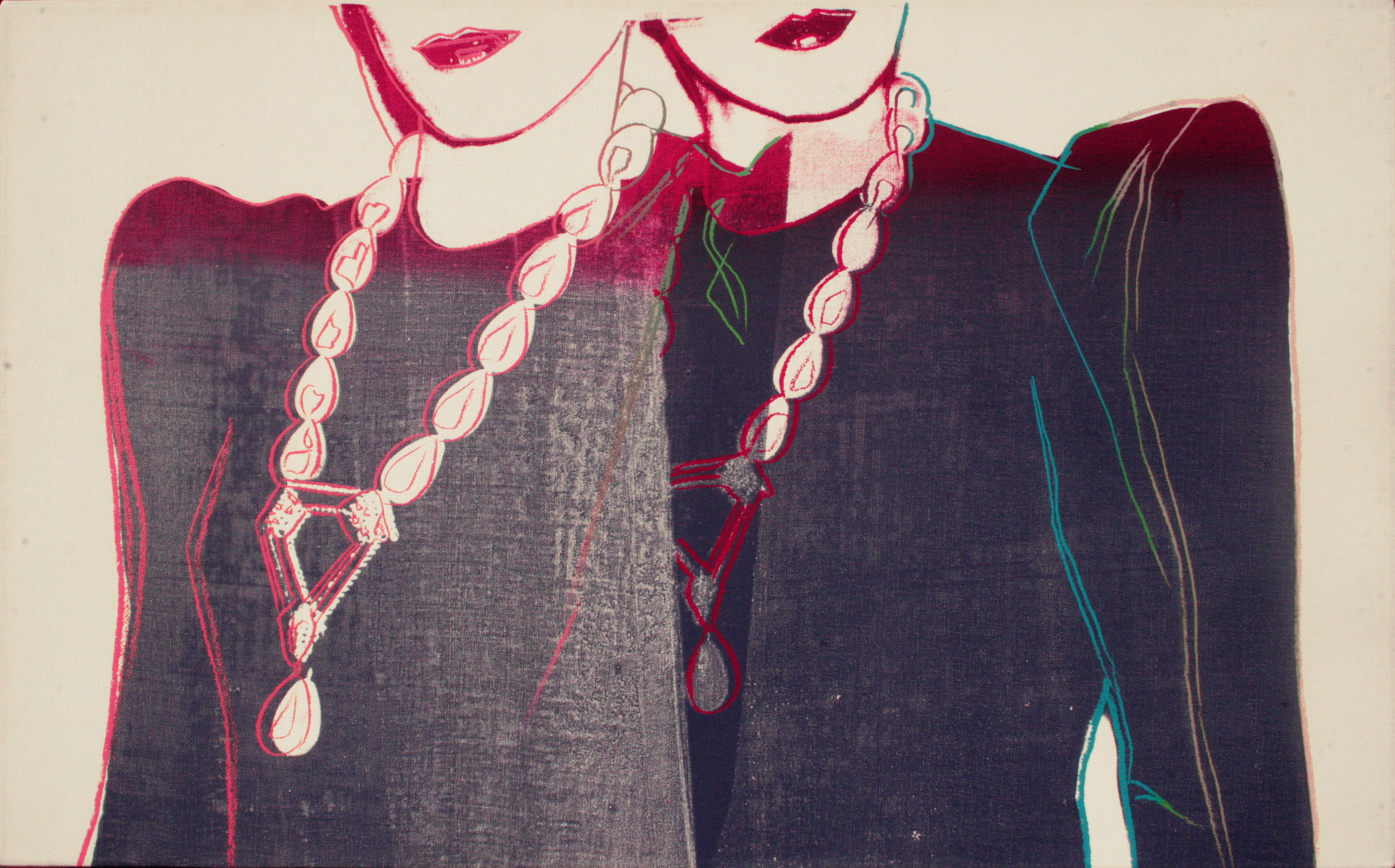 Fashion (Two female with necklaces), 198