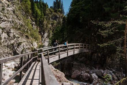 Brücke Garnitzenklamm