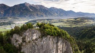 Überblicke von der Urbani Kirche ins Gailtal