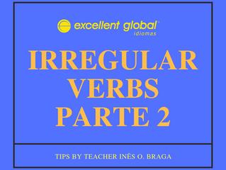 VERBOS IRREGULARES PARTE 2