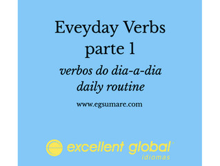 EVERYDAY VERBS PARTE 1