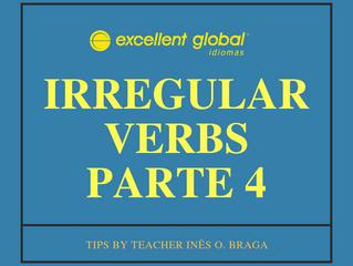 IRREGULAR VERBS PARTE 4