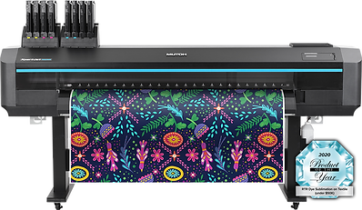 Mutoh XPJ-1682WR sublimation printer with Product of the Year award