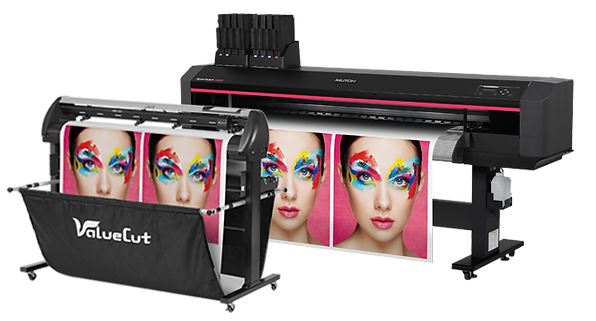 Mutoh vinly print and cut package
