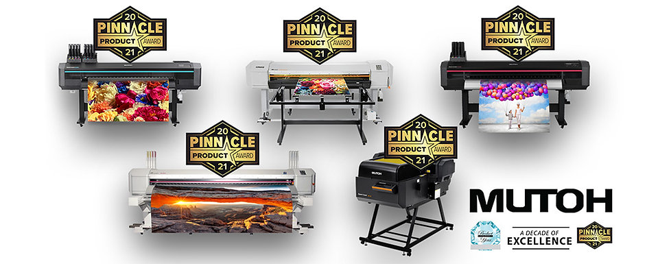 MUTOH wins multiple pinnacle product awards