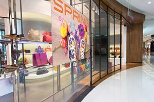 Shopfront with UV printed window graphics