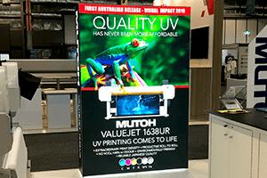 UV printed lightbox