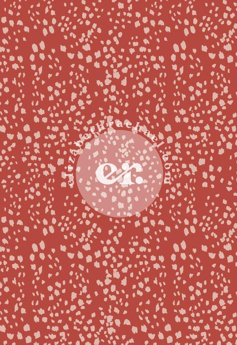 Muted Animal surface pattern by elizabeth rachael