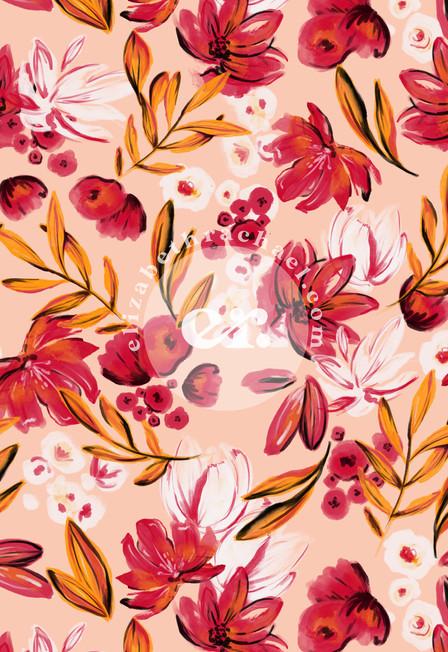 painted floral by elizabeth rachael