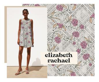 Paisley Tile Summer Dress