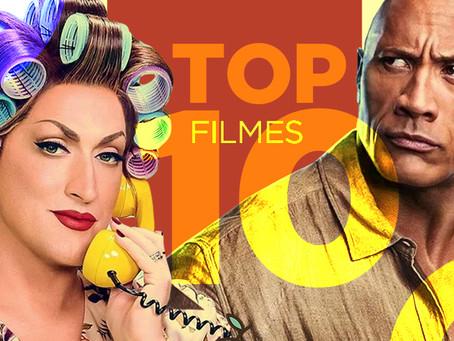 TOP 10 de Filmes Mais Alugados