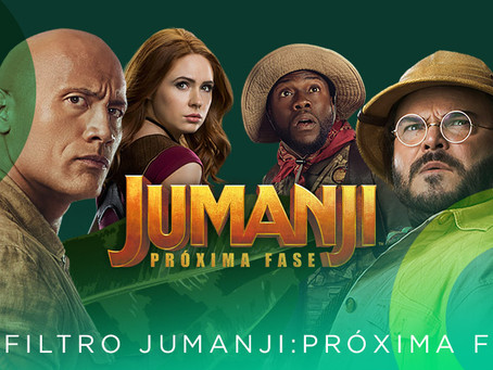 Filtro Jumanji: Próxima Fase