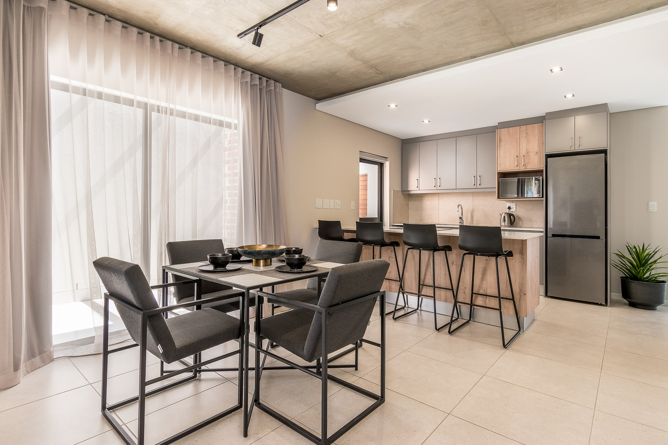 Greystone-Dining room and Kitchen 1