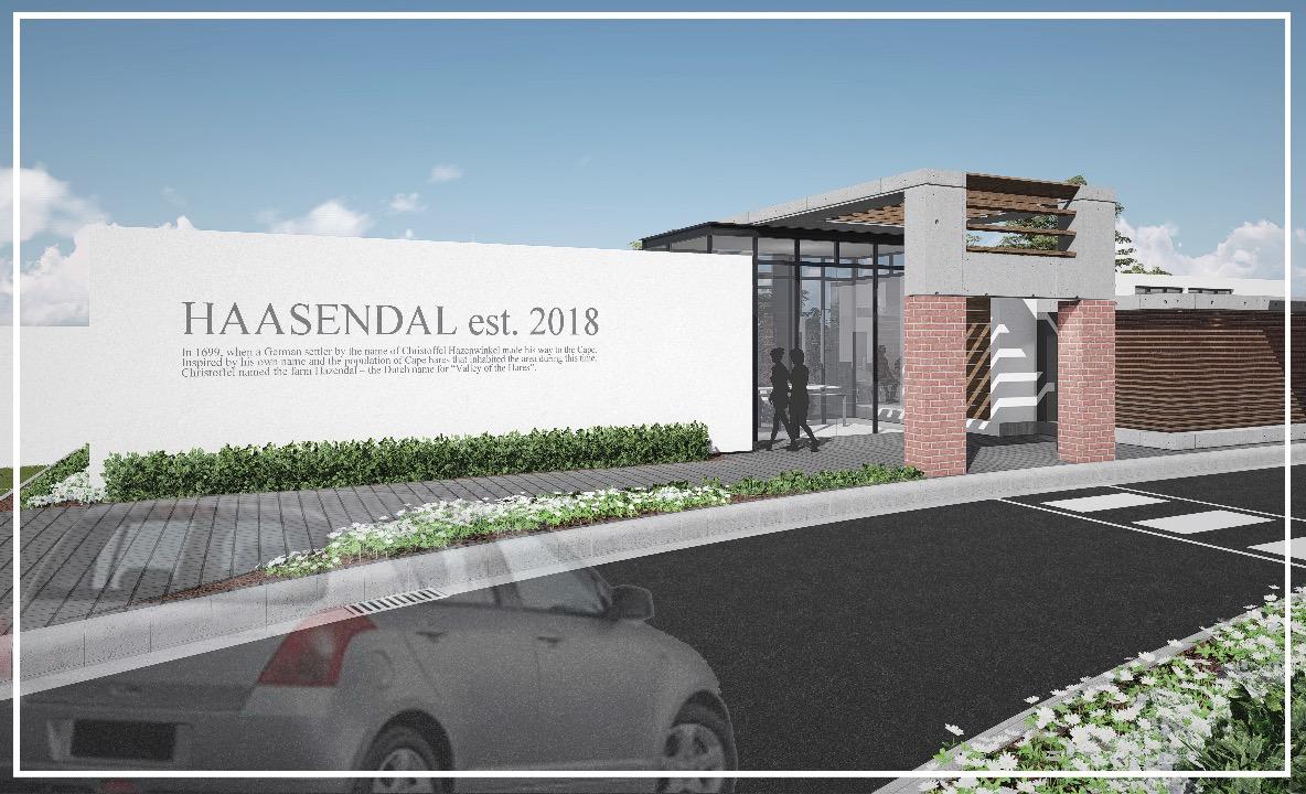 Haasendal Estate Entrance 2