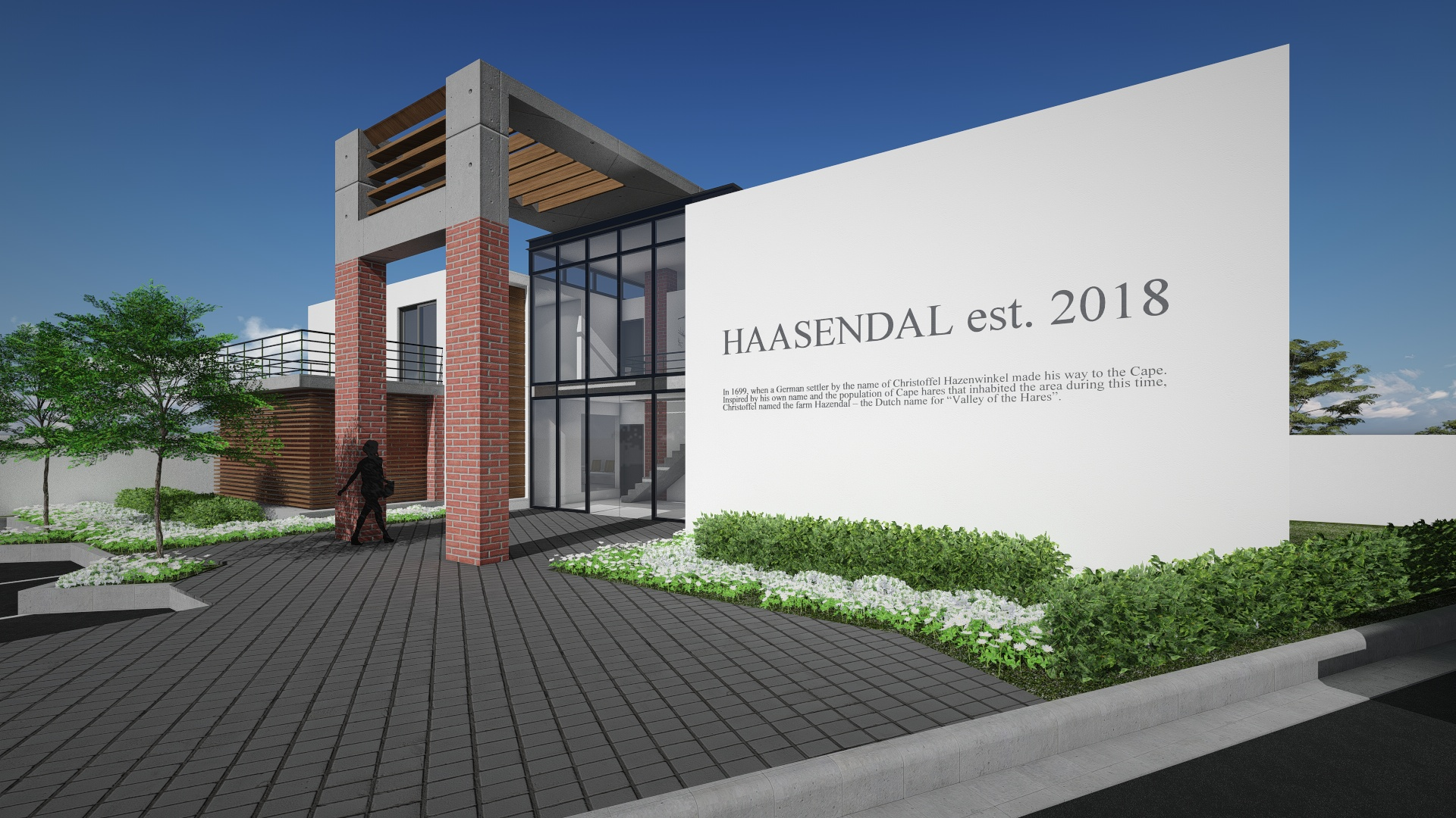 Haasendal Estate Planned Entrance