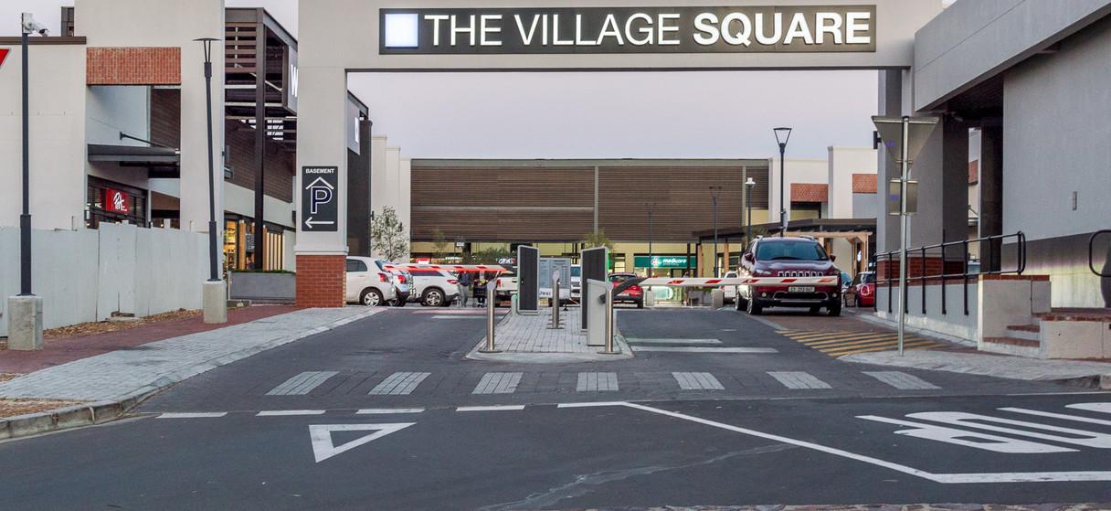 Village Square Entrance