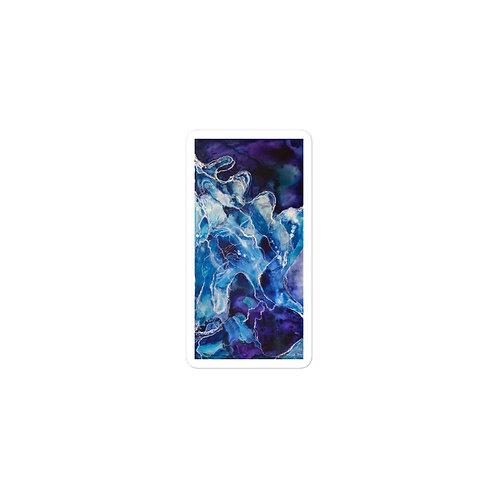 TWS - Abstract Waves (V/H) Vinyl  Bubble-free sticker