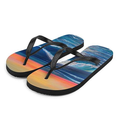 Silver Linings Flip-Flops