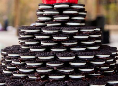 Oreo Wedding Cake?  Yes please!
