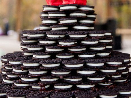 Oreo Wedding Cake?  Yes please!