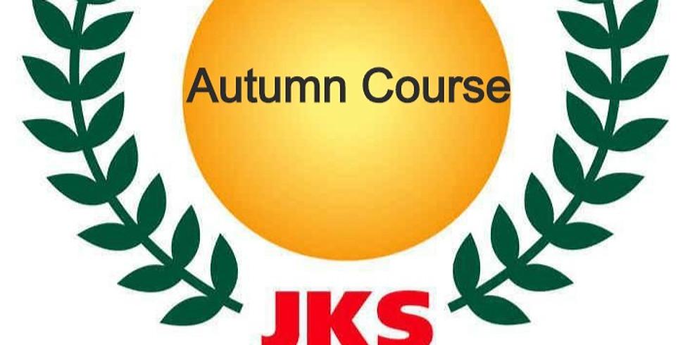 JKS Autumn Course in Nottingham