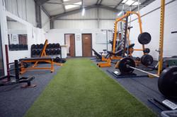 Our pretty gym floor