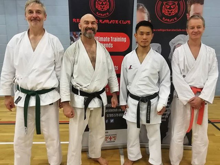 Lessons from Japan: a day with Shohei Toyama from the JKS headquarters honbu dojo in Japan