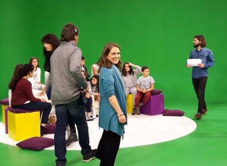 Sur le tournage d'une émission de OUFtivi!