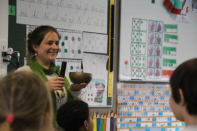 Maïté Massart CAP-Accord Pleine conscience pour enfants - écoles