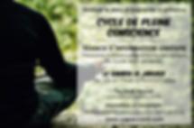 Maïté Massart CAP-Accord cycle pleine conscience Luttre Pont-à-Celles mindfulness