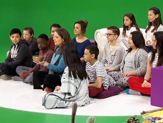"""Maïté dans l'émission """"Les Matins Pyjamas"""""""