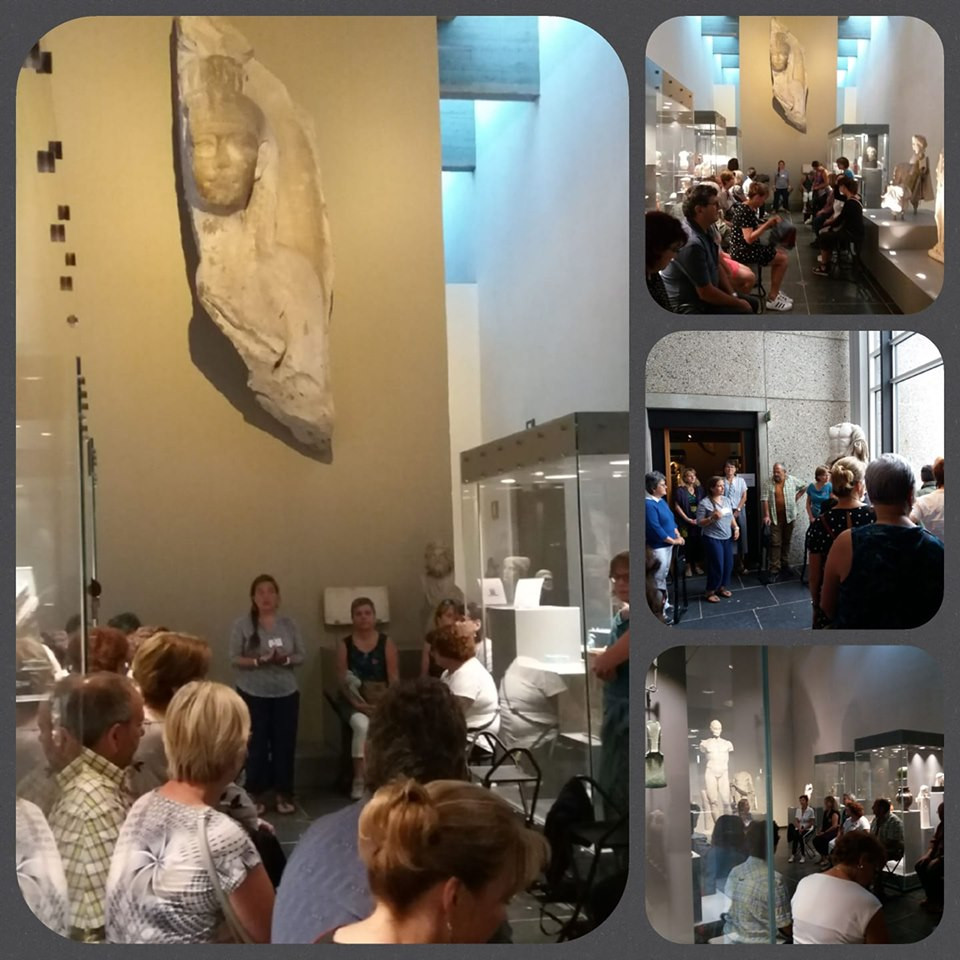 Visite en pleine conscience du Musée de Mariemont Maïté Massart CAP-Accord