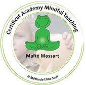 CAP Accord méditation Pleine conscience mindfulness écoles atelier enfants adultes Pont-à-Celles Maïté Massart