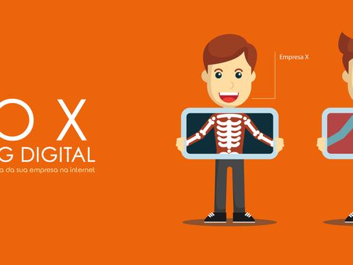 Raio X de Marketing Digital: descubra o que sua empresa precisa melhorar